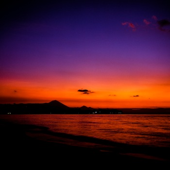 Dawn at Gili Meno.